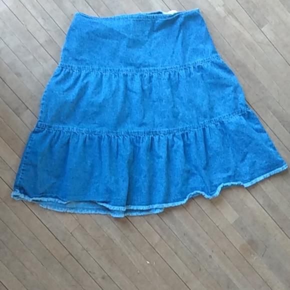 Christopher & Banks Dresses & Skirts - Jean Skirt